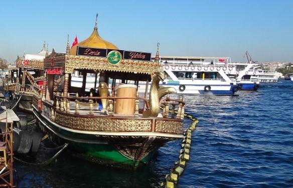 Restaurant on Golden Horn