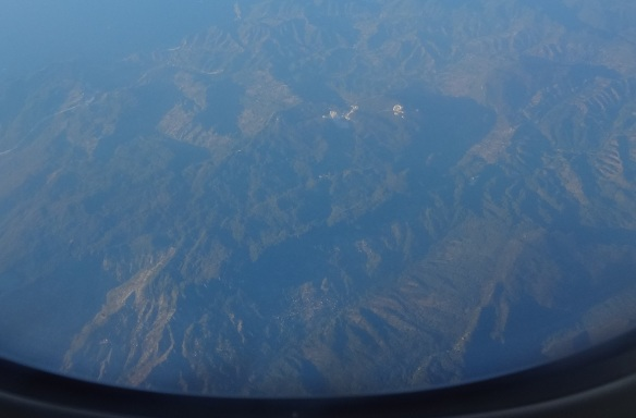 Leaving Turkey; the view from the aircraft.