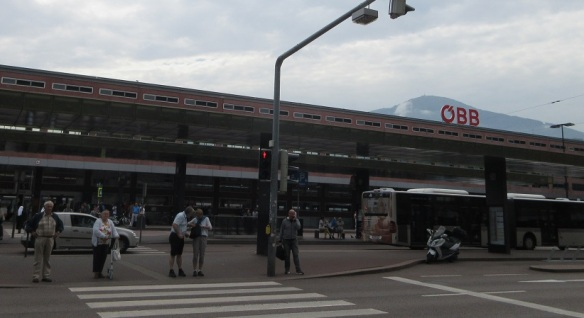 Innsbruck Hauptbahnhof (Innsbruck Central Station)