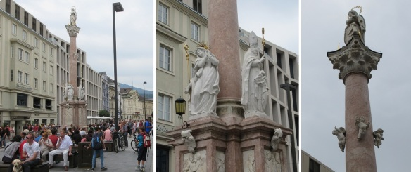 Annasäule (St. Anna's Column) in Maria-Theresien-Straße