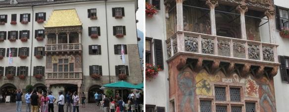 Famous Goldenes Dachl (Golden Roof) Innsbruck