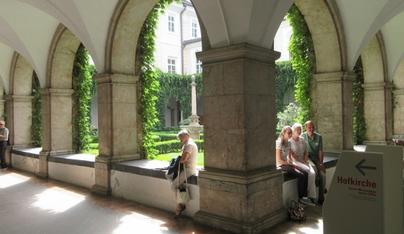 Courtyard and Cloister of the Imperial Court Church