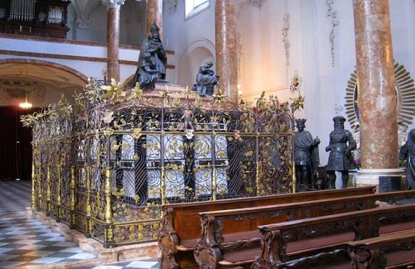 The cenotaph of Emperor Maximilian I.