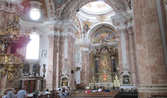 Nave and Altar of Innsbruck Cathedral