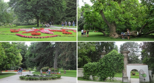 The Hofgarten (Court Garden) is located on the edge of the old town Innsbruck.