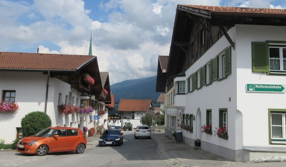 Leaving the Dorf street