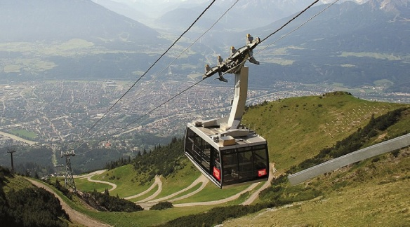 Gondola of the Cable Car.