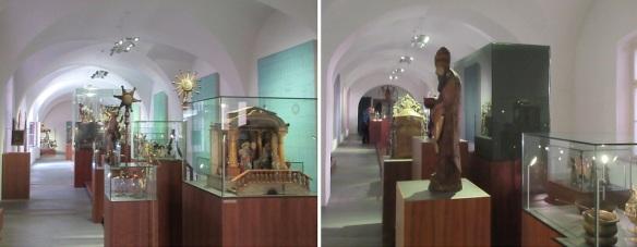 Interior of the Tyrolean Folk Art Museum.