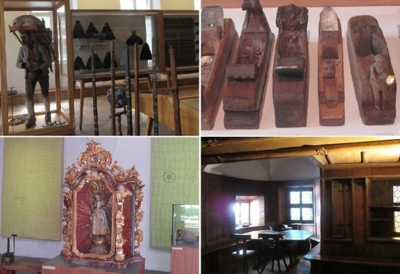 Exhibits of Tyrolean Folk Art Museum