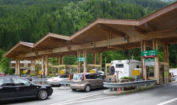 Gate of Grossglockner High Alpine Road