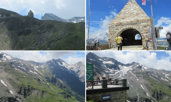 From the Grossglockner High Alpine Road, going to the Franz-Josefs-Höhe.