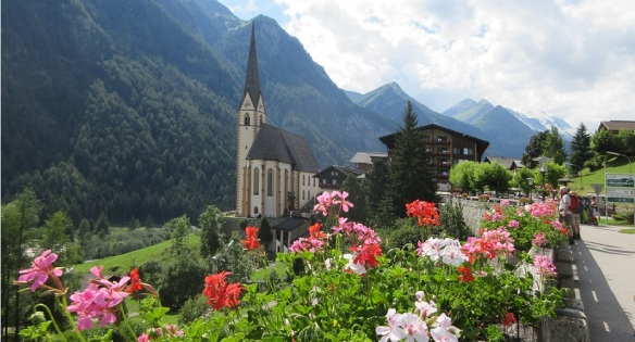 St Vincent Church and Grossglockner