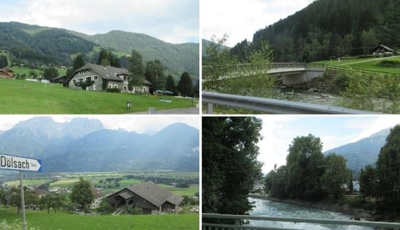 Scenery from Heiligenblut to Lienz.