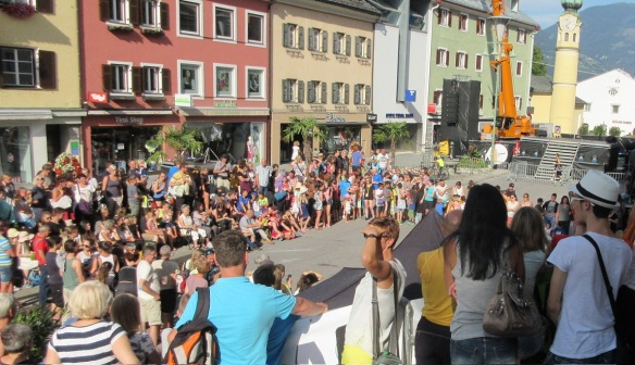 Olala International Street Theater Festival Lienz