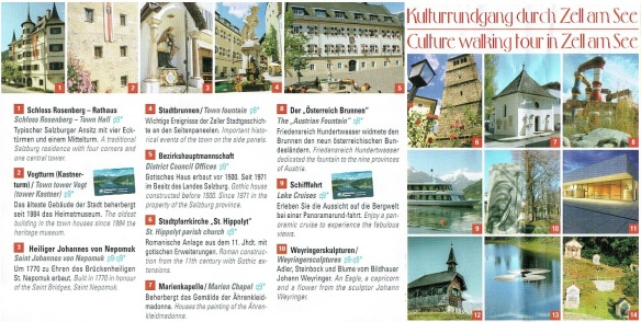 Culture walking tour in Zell am See