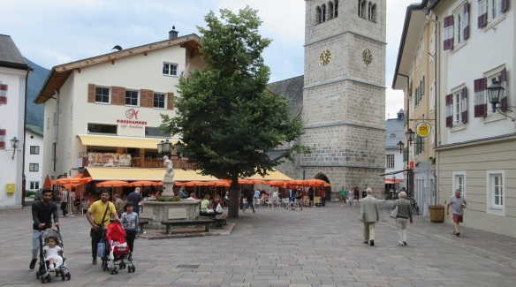 Stadtplatz (Main town square) of Zell am See