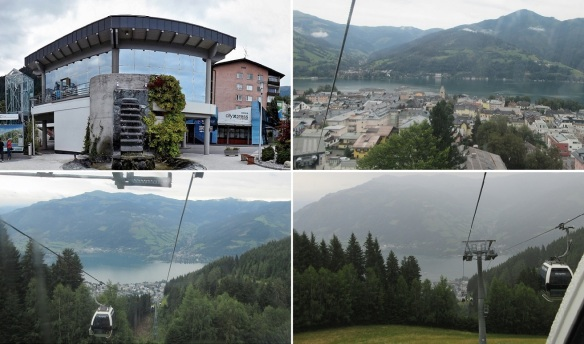 City Xpress (ropeway station) and views from the gondola.