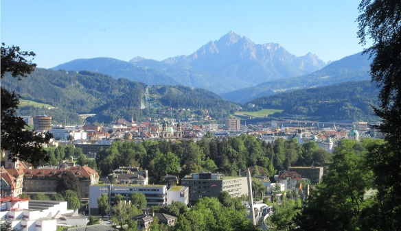 Arrived in the city of Innsbruck.