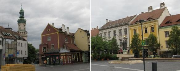 Várkerület Street Sopron