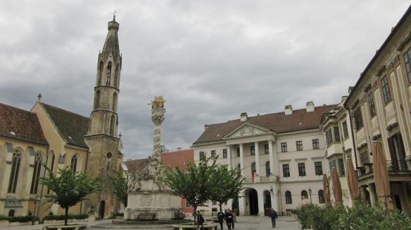 Main Square of Sopron