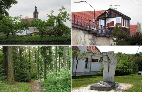 Scenery from Sopron City to the border.