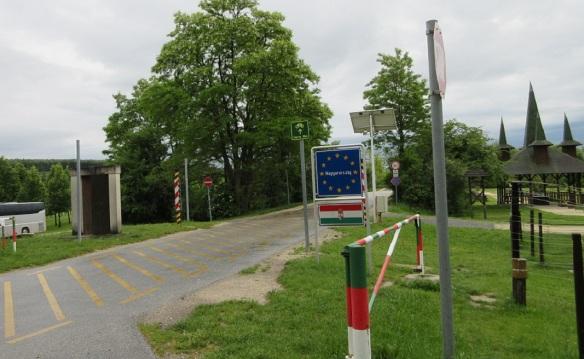 We arrived at a park called Pan-European Picnic Memorial Park Sopron.