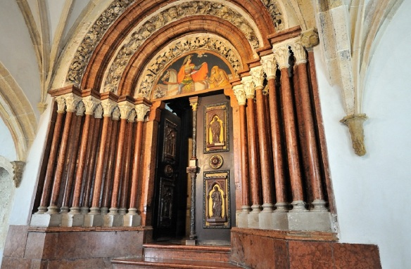 The Porta Speciosa (Latin; Beautiful) neo-gothic door in the 19th century.