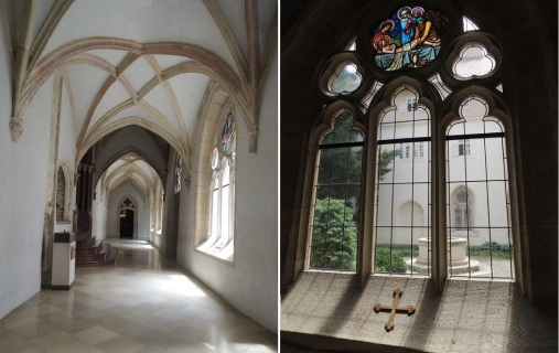 Cloister (quadrum) of the Archabbey