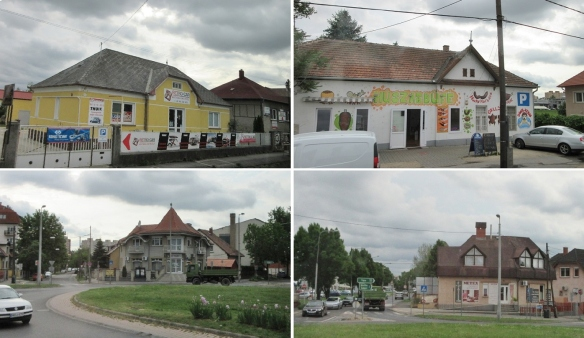 Scenery in the middle of going to Győr.