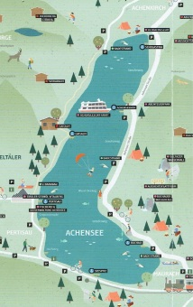 Map of Lake Achen