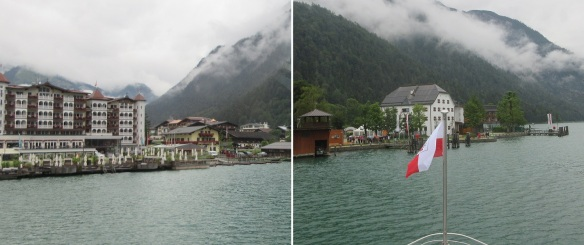 Pertisau village, just around the middle of the Achen lake, came into view.