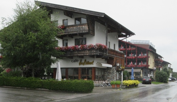 Country cafe on Achenkirch Street