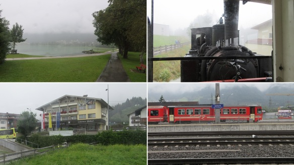 Arrived at Seespitz Street, took Achensee Railway again and went back to Jenbach.