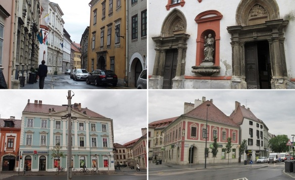 Wandering about the city of Sopron.