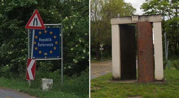 Pan-European Picnic Memorial Park, Austrian border and Memorial gate