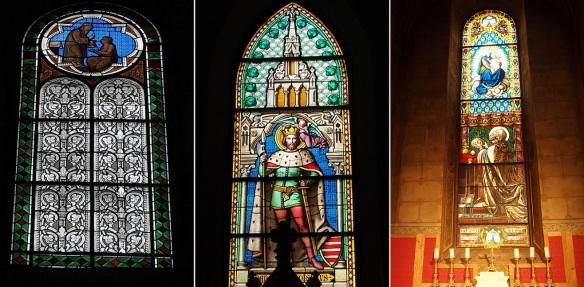 Stained glasses of St. Martin's Basilica