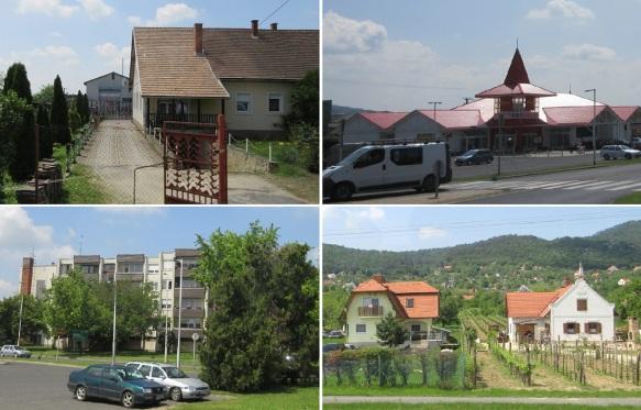 We are going into the Balatongyörök village.