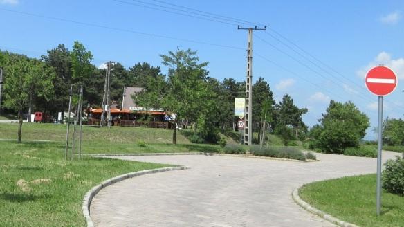 We arrived at the park of Szépkilátó in the Balatongyörök Village.