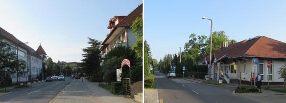 Kossuth Lajos Street Hévíz