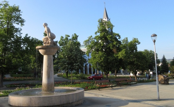 Square in front of the Town Hall
