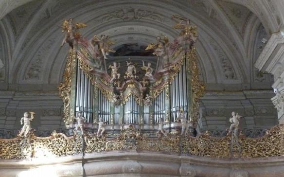 Brilliant organ of the church