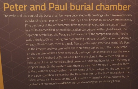 Explanation of the burial chamber