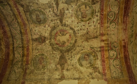 Ceiling paintings of the burial chamber