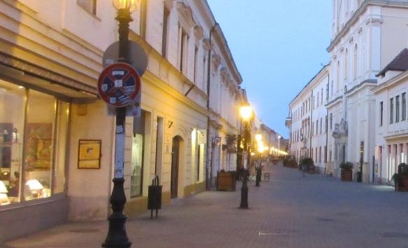 Király Street of Pécs