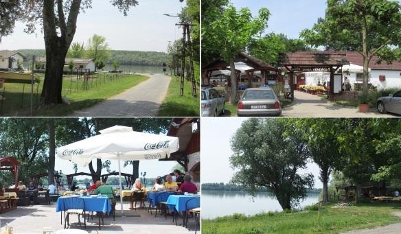 We have lunch at a restaurant on the bank of Danube. Kék Duna Vendéglő (Blue Danube Restaurant).