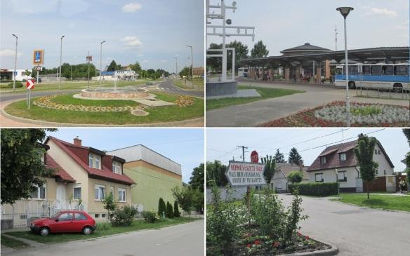 After lunch, we are going to the Folk Art Center. Bátyai Street, Bus station, Széchenyi Street and Zöldfa utca (Green Wood Street).