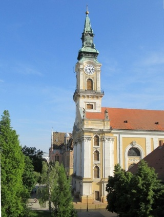 The Great Church, view from the hotel.