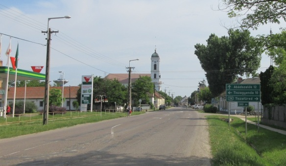 Town of Kunhegyes Hungary