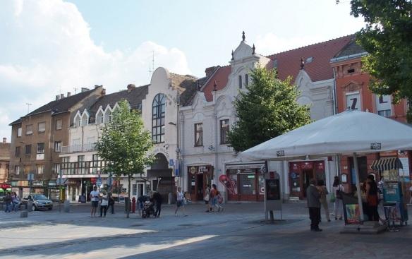 Kossuth Square Pécs