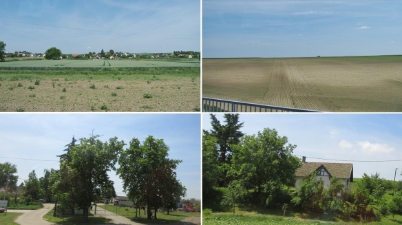 Going up north on the Great Hungarian Plain.
